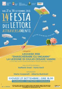 Festa Lettori Vanini 2018